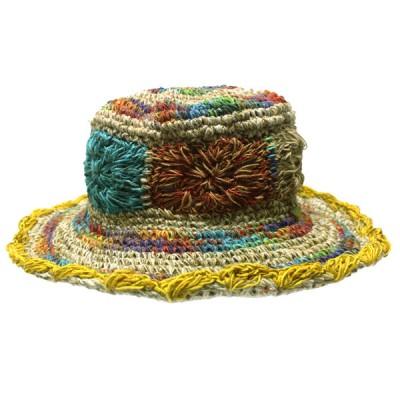 Chapeau d'été - chanvre et coton (chnep03)