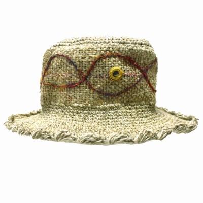 Chapeau d'été - chanvre et coton (chnep04)