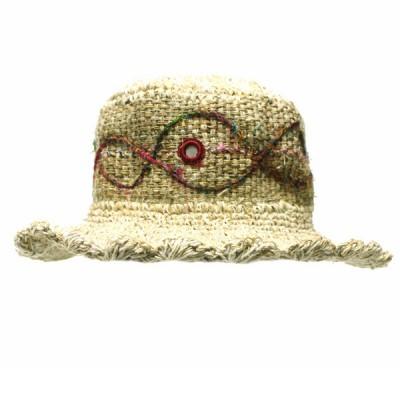 Chapeau d'été - chanvre et coton (chnep05)