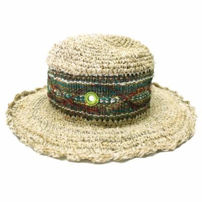 Chapeau d'été - chanvre et coton (chnep07)