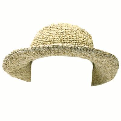 Chapeau d'été - chanvre et coton (chnep08)