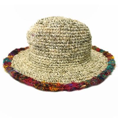 Chapeau d'été - chanvre et coton (chnep11)