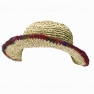 Chapeau d'été - chanvre et coton (chnep12)