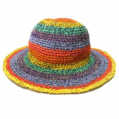 Chapeau d'été - chanvre et coton (chnep13)