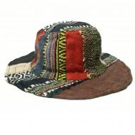 Chapeau d'été - chanvre et coton (chnep19)