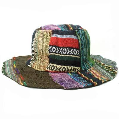 Chapeau d'été - chanvre et coton (chnep20)