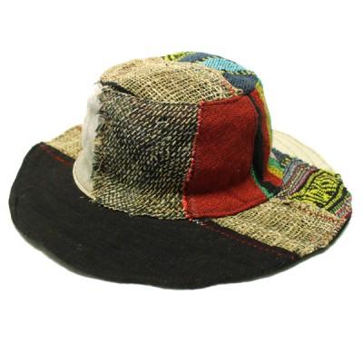 Chapeau d'été - chanvre et coton (chnep21)