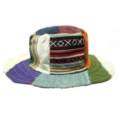 Chapeau d'été - chanvre et coton (chnep23)