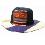 Chapeau d'été - chanvre et coton (chnep27)