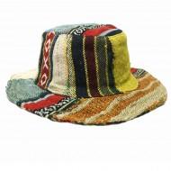 Chapeau d'été - chanvre et coton (chnep29)