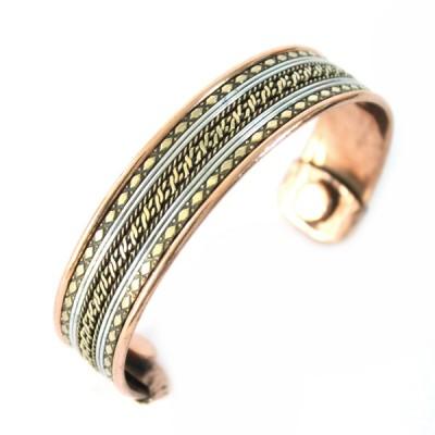 Bracelet Cuivre et Aimants (brcuig025)