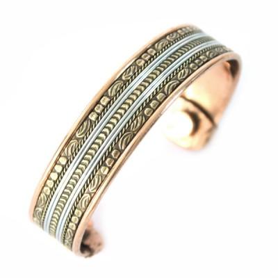 Bracelet Cuivre et Aimants (brcuig026)