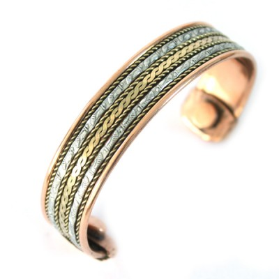 Bracelet Cuivre et Aimants (brcuig027)