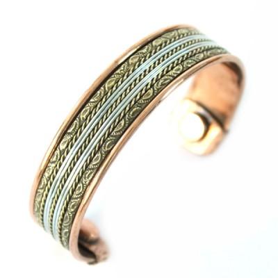 Bracelet Cuivre et Aimants (brcuig028)