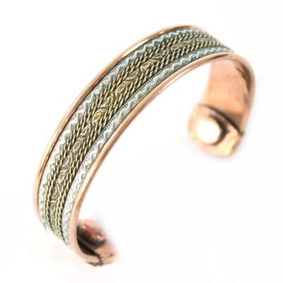 Bracelet Cuivre et Aimants (brcuig029)