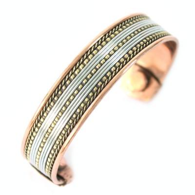 Bracelet Cuivre et Aimants (brcuig030)