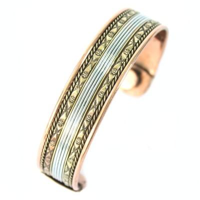Bracelet Cuivre et Aimants (brcuig031)