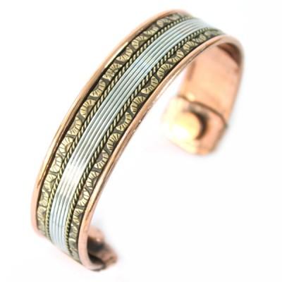 Bracelet Cuivre et Aimants (brcuig032)
