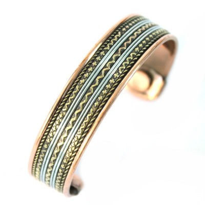 Bracelet Cuivre et Aimants (brcuig033)