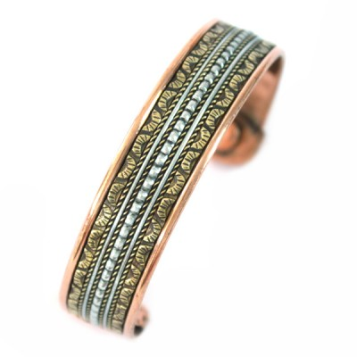 Bracelet Cuivre et Aimants (brcuig034)