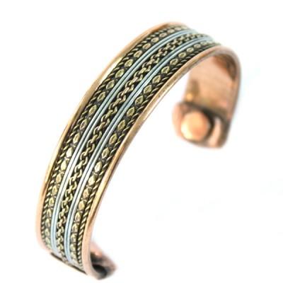 Bracelet Cuivre et Aimants (brcuig036)