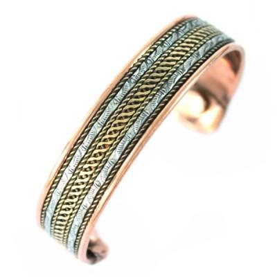 Bracelet Cuivre et Aimants (brcuig037)