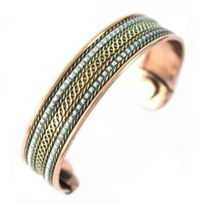 Bracelet Cuivre et Aimants (brcuig035)