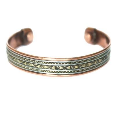 Bracelet Cuivre et Aimants (brincui25)
