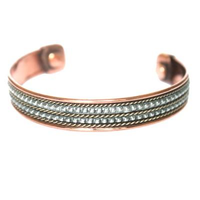 Bracelet Cuivre et Aimants (brincui26)