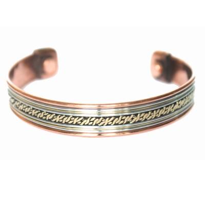 Bracelet Cuivre et Aimants (brincui27)