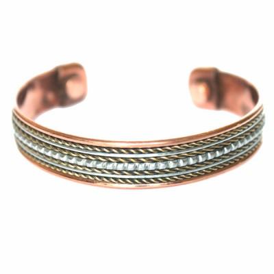 Bracelet Cuivre et Aimants (brincui28)