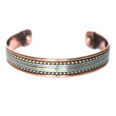 Bracelet Cuivre et Aimants (brincui29)