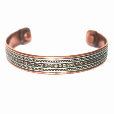 Bracelet Cuivre et Aimants (brincui30)