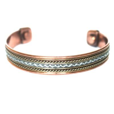 Bracelet Cuivre et Aimants (brincui31)