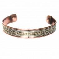 Bracelet Cuivre et Aimants (brincui24)