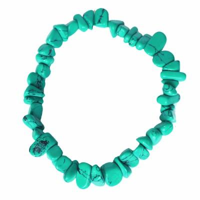 Bracelet Indien artisanal en Turquoise