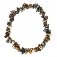 Bracelet Indien artisanal en Quartz Rose
