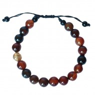 """Bracelet perles rondes """"Jaspe"""""""