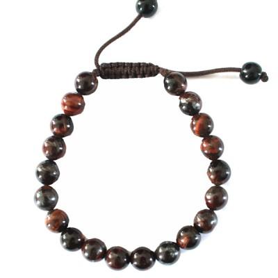"""Bracelet perles rondes """"Oeil de Boeuf"""""""