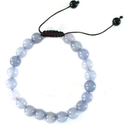 """Bracelet perles rondes """"Pierre de Lune"""""""