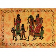 Tenture africaine MASSAI