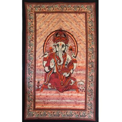 "Tenture Indienne ""Ganesh"" (tmm065/2)"