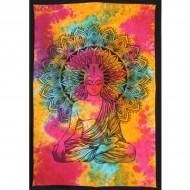 """Tenture Indienne """"Bouddha"""" (tmm274)"""