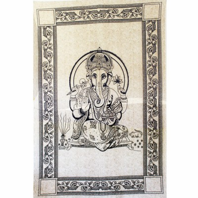 "Tenture Indienne ""Ganesh"" (tmm276)"