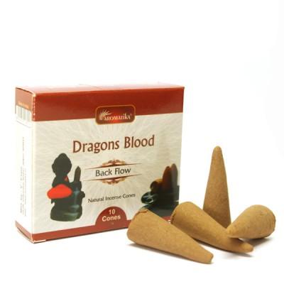 """Encens indien - Cônes à reflux """"Dragons Blood"""""""