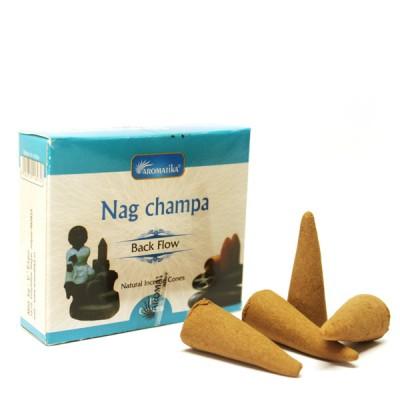 "Encens indien - Cônes à reflux ""Nag Champa"""