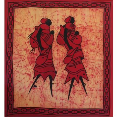 "Tenture Murale ""Les Africaines""(tgmb090/2)"