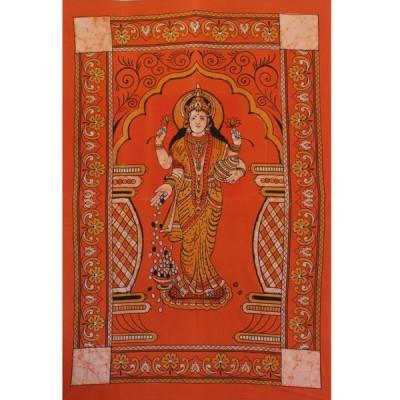"Tenture Indienne ""Lakshmi"" (tmm039 3)"