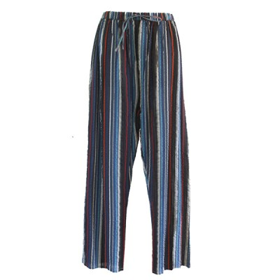 Pantalon coton rayé (pan02ry)