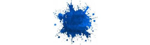 Tentures bleues